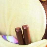 ポケットにはいつも太鼓の鉢とお手玉、笑顔の種が入っている! たまに、太鼓台の指揮棒が入っている。