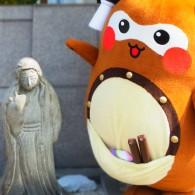まちゅりは一宮神社の小女郎狸伝説から狸をベースとしている。