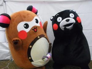 そして、記念すべき2ショットを撮ることができました! まさに、愛媛新居浜と熊本の夢のコラボであります!