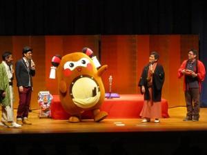 そして、共演者の皆さん&会場の皆さんにご挨拶をし、初舞台を終えました!