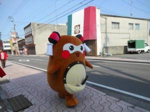 昭和通りを、ひたすら西へ。
