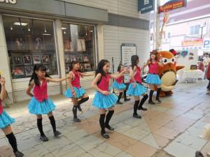ダンスグループ「にいひめ」さんとコラボ!