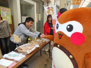 自分のシールが貼られているクッキーを購入!