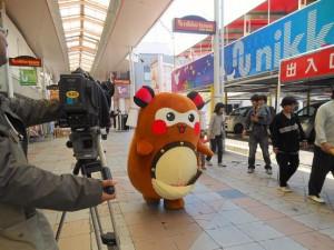 愛媛朝日テレビの取材がありました。
