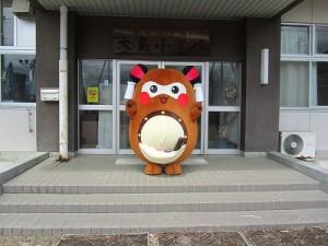 廃校となる、大島小学校にお邪魔したり・・・