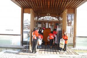 だんじりを見学した後は、十河信二記念館へ!