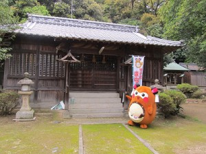 秋祭りで有名な大島八幡神社にお参りしたりと、大島を一日満喫!